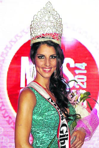 Shyanne shines as new Miss Gibraltar