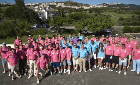 Rhys Daniels celeb golf challenge hits double decade