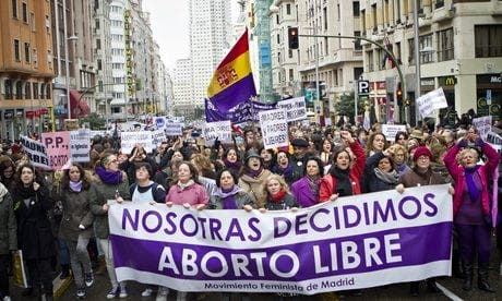 Catholic Spain clamps down on abortion