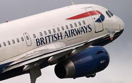 Alternative Alhambra: British Airways can't spell
