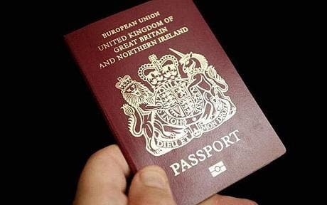 britishPassport c