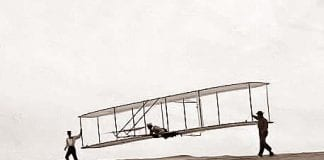 jack wright brothers test flight
