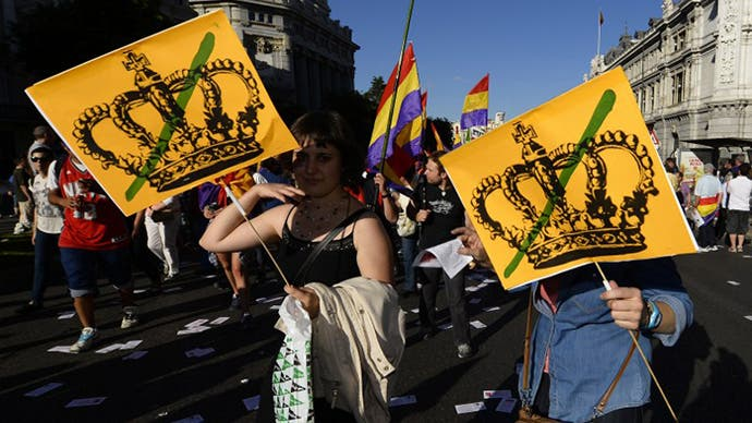 120 snipers to cover Spanish king's proclamation