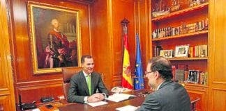 royal felipe changes in office e