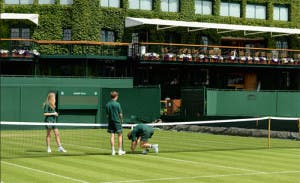 Courts at Wimbledon