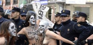 anti abortion march in madrid attracts estimated   participants  large e