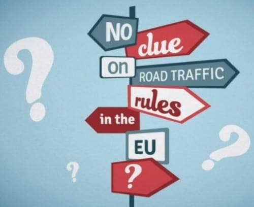 New app makes driving abroad in Europe much simpler