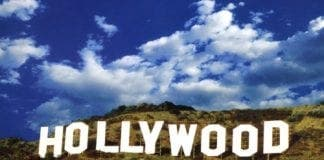 Hollywood sign e