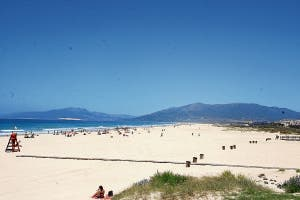Atlantic beach at Tarifa