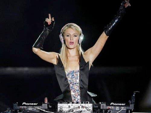 Paris Hilton's one night in Marbella