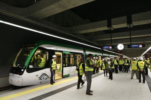 Malaga metro to open 12 July