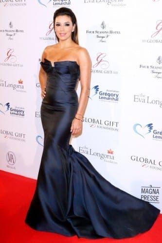 Eva Longoria mixes business with pleasure in Marbella