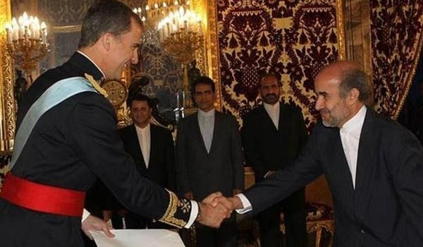 Spanish king and Iranian ambassador discuss the future