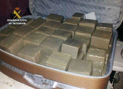 Four-plane drug operation busted in Cadiz