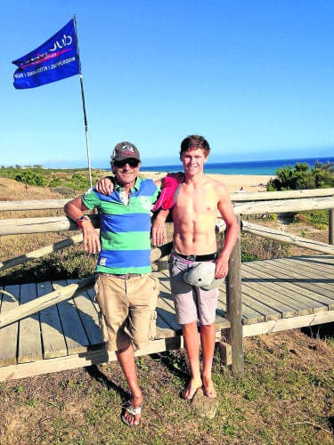 The Whaley brothers and the Costa de la Luz windsurfing revolution
