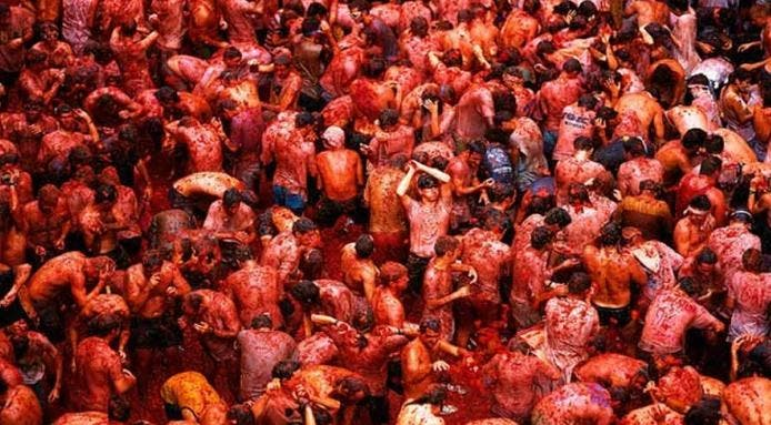 Annual Tomatina festival surrounded by corruption accusations
