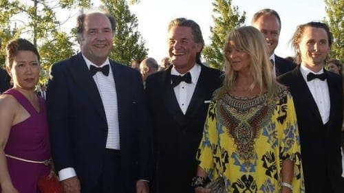 Hollywood meets Spain's power brokers at Vera Sicilia winery