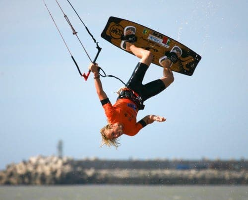 Kite surfing world champion launches lessons in Marbella