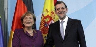 Rajoy Merkel e