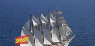 Spanish naval training ship Juan Sebastian Elcano