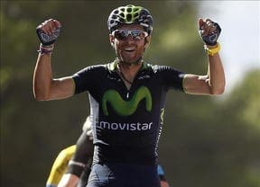 Vuelta a Espana: Valverde wins stage to claim the red jersey