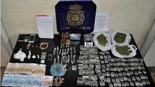 Drugs network busted in Velez-Malaga