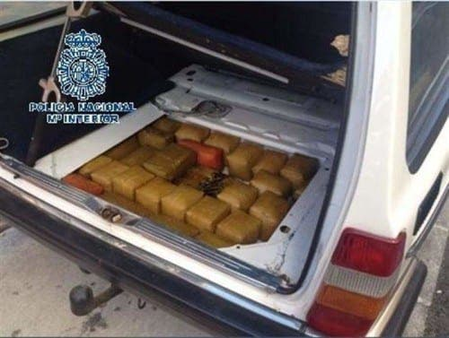 Hash seized in Coin and Mijas police operation
