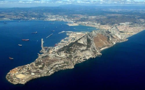 Gibraltar's reef is legal