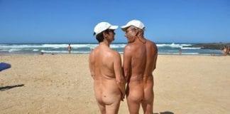 giles naked beach