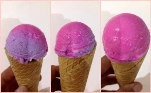 Spanish scientist creates world's first colour-changing ice cream