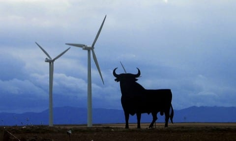 Funding cuts halt wind turbine development