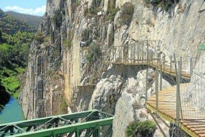 Caminito del Rey in El Chorro, photo by Tom Powell