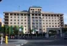 Malaga hospital e