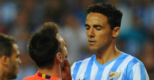 Messi accused of verbal assault by Malaga's Weligton