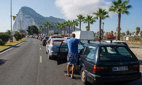 Gibraltar-Spain border delays to get even worse as works begin
