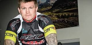 Ricky Hatton cycling challenge in Granada