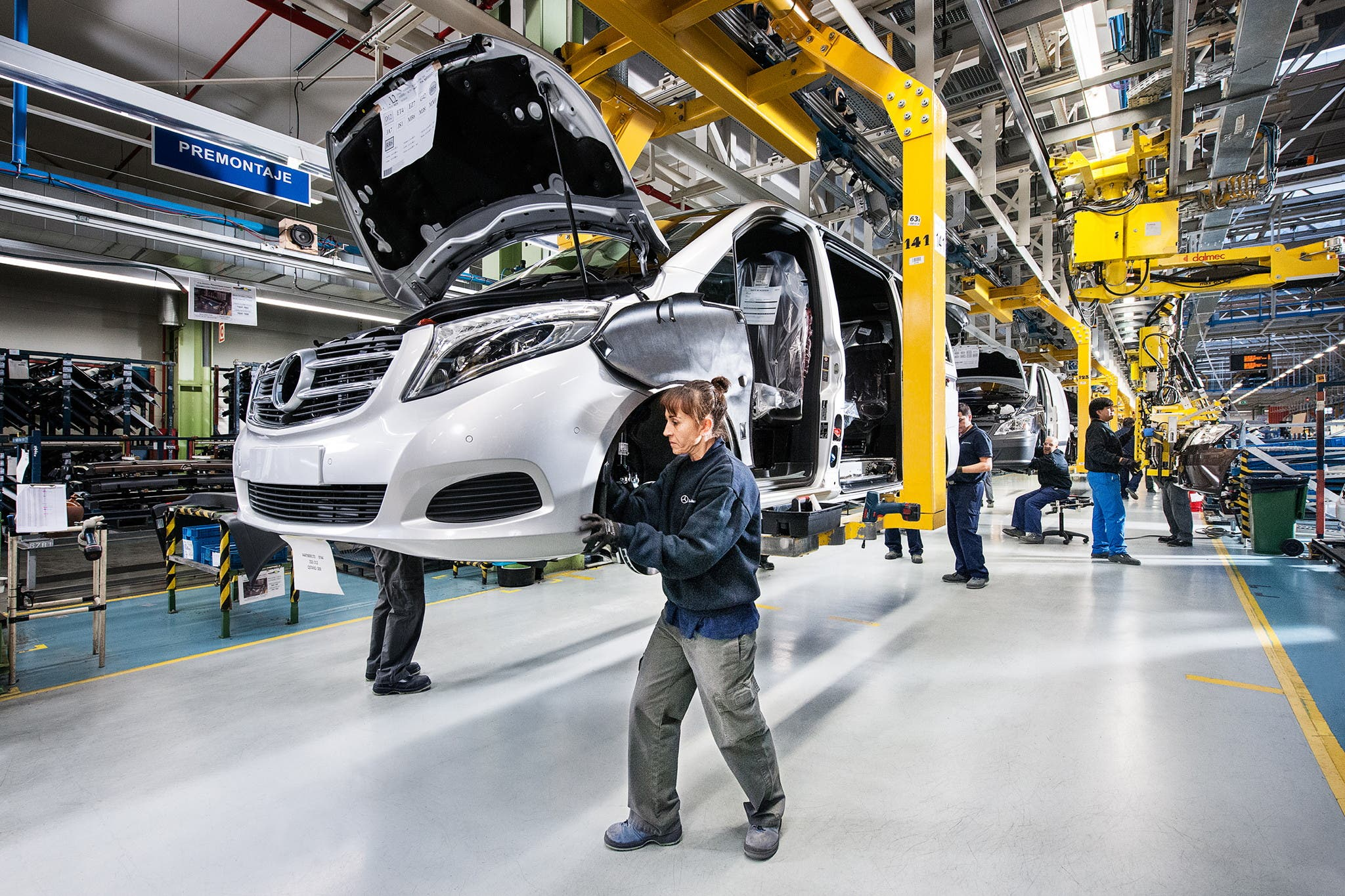 Spain is pulling ahead in worldwide production race