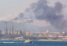 air pollution refinery e