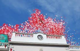 The man behind the Gibraltar National Day balloons speaks exclusively to the Olive Press