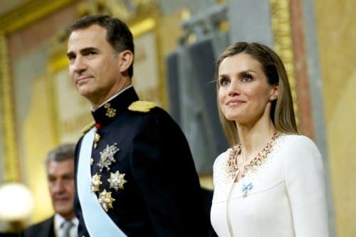 The King and Queen are about to arrive in Malaga