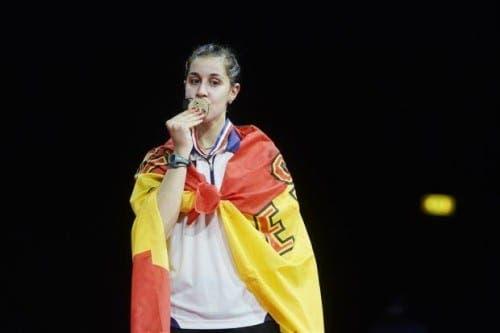 Spain's Carolina Marín is new badminton world champion!