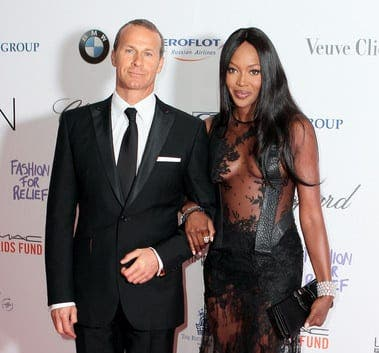 Naomi Campbell's former boyfriend's daughter in surfing accident in Ibiza