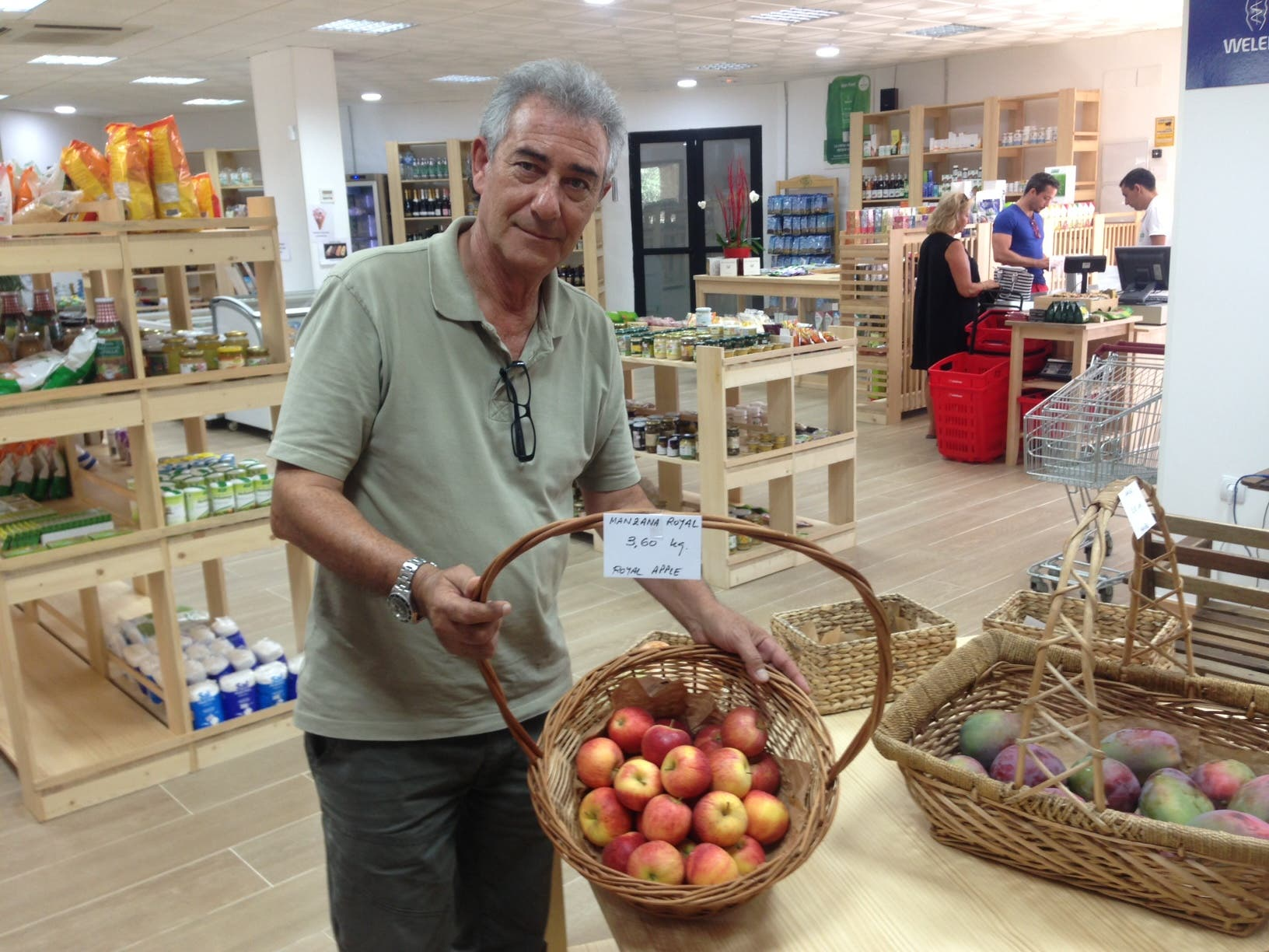 Only the best, naturally at Andalucia's largest organic supermarket