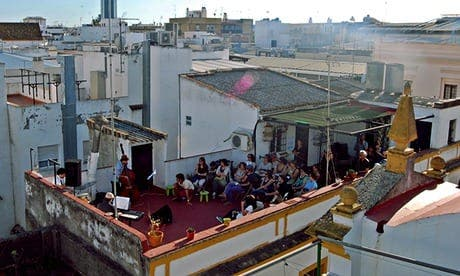 Andalucia's rooftops transformed into community hubs
