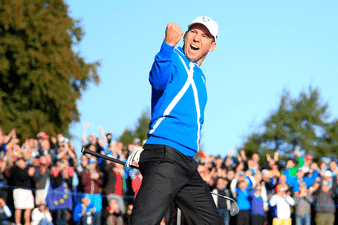 Sergio Garcia sparkles as Europe win the Ryder Cup