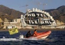 Algarrobico Hotel illegal e