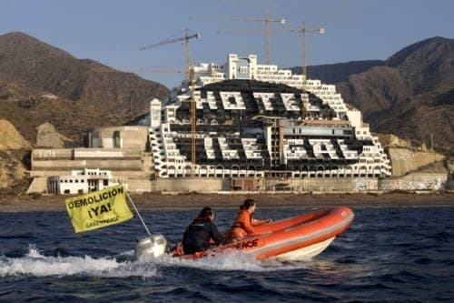 Work to resume at controversial Algarrobico hotel