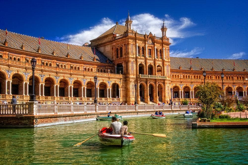 Spain is Europe's most-searched-for travel destination