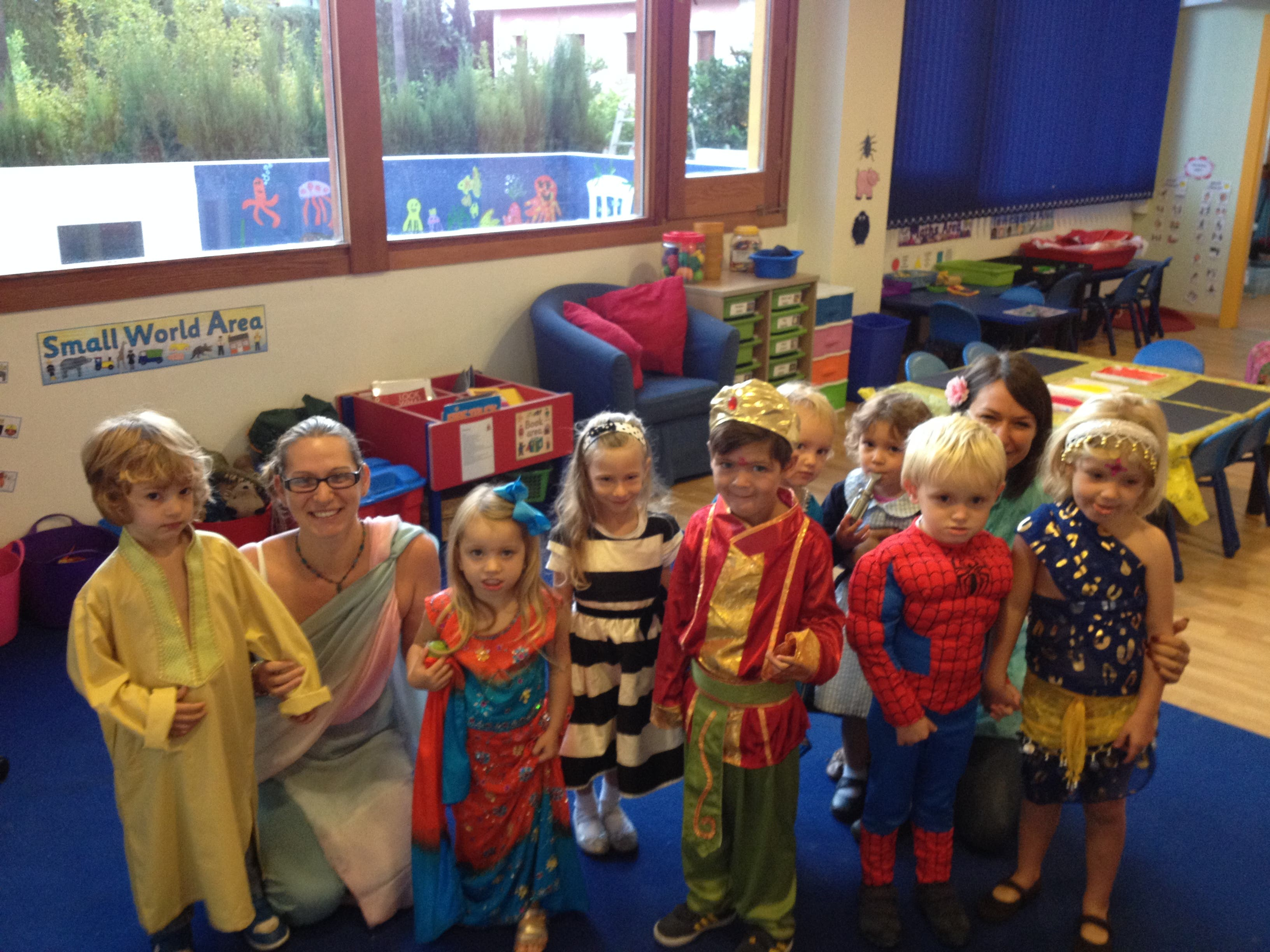 Children at British School of Marbella celebrate Diwali