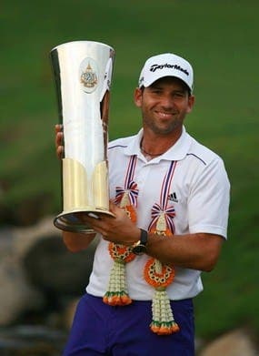 Sergio Garcia to face tough test in Thailand